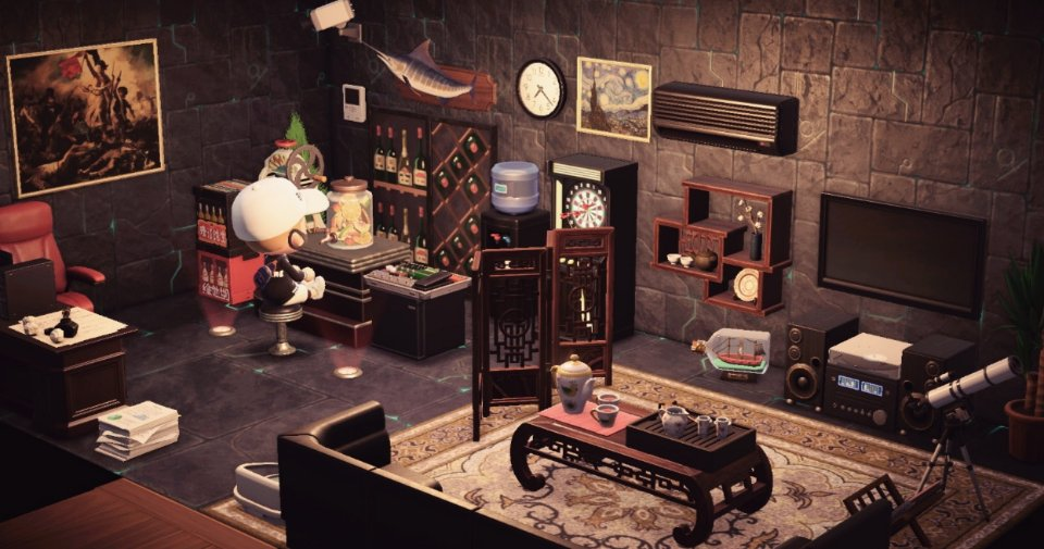 Multi-Purpose Living Room (56 Items) - Items - Animal ... on Living Room Animal Crossing New Horizons  id=78384