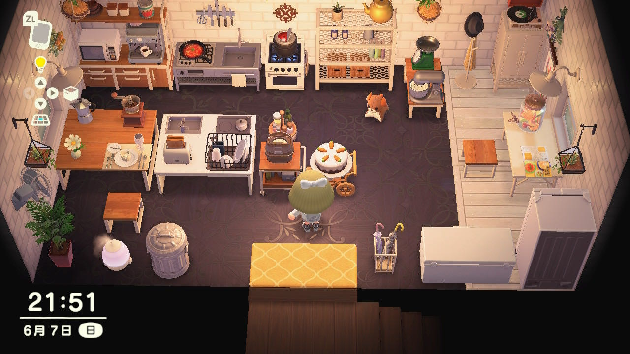 A Japanese Kitchen Sets(71 Items)-Theme - Items - Animal ... on Kitchen Items Animal Crossing  id=50468