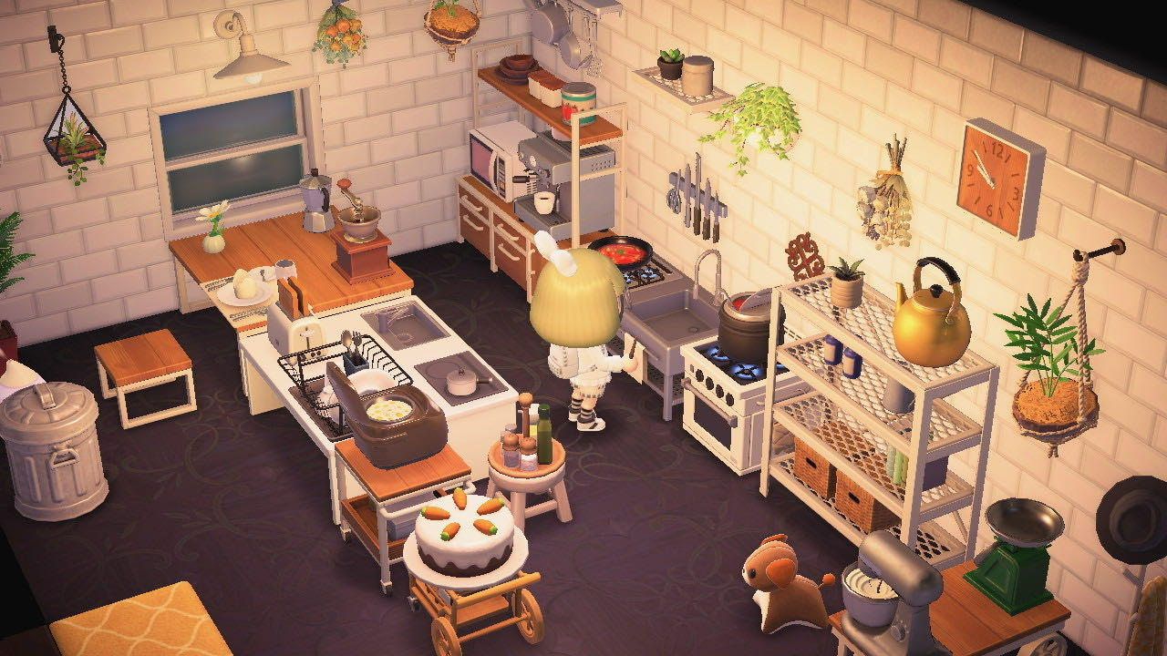 A Japanese Kitchen Sets(71 Items)-Theme - Items - Animal ... on Kitchen Items Animal Crossing  id=77096
