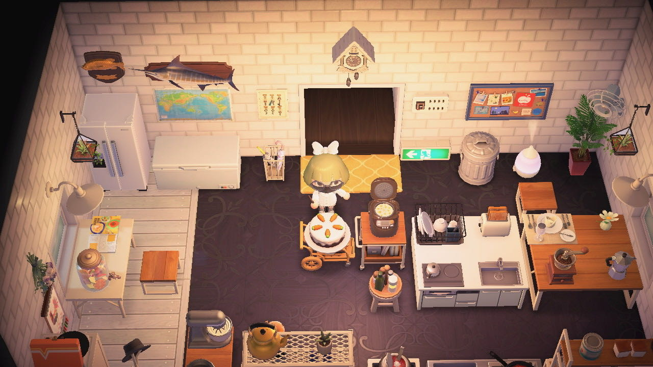 A Japanese Kitchen Sets(71 Items)-Theme - Items - Animal ... on Kitchen Items Animal Crossing  id=93627
